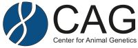 Logo of CAG (Center for Animal Genetics)